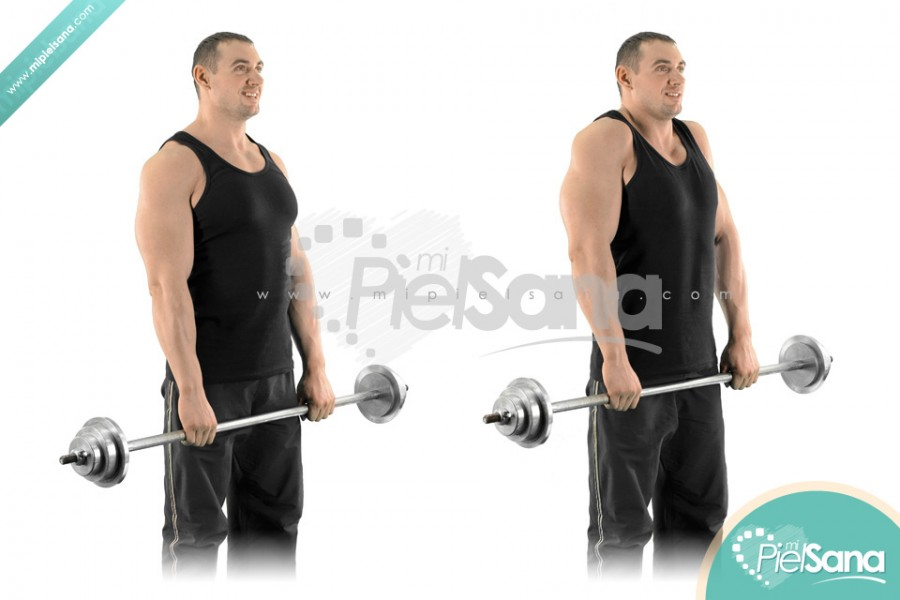 Barbell Shrug