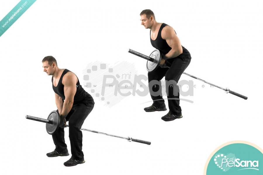 Close Grip Bent Over Row