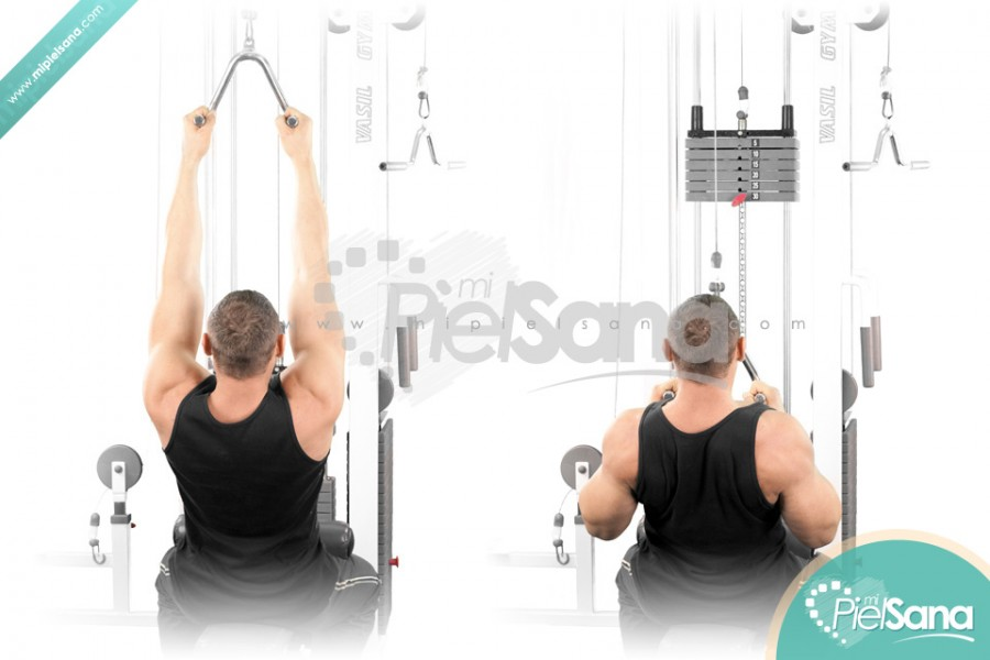 Close Grip Lat Pull Down