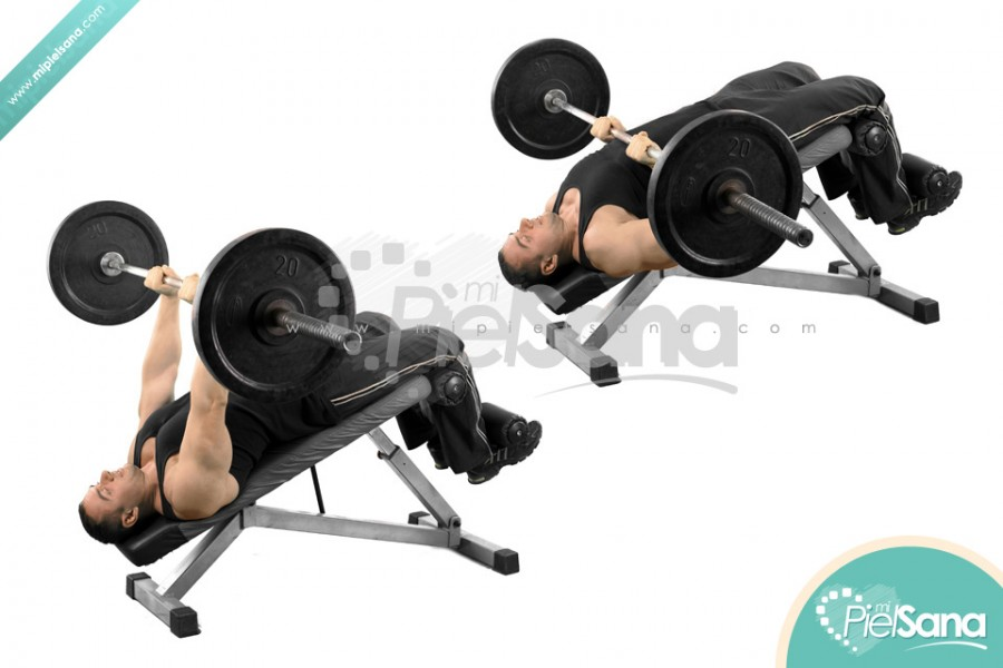 Decline Close Grip Bench Press