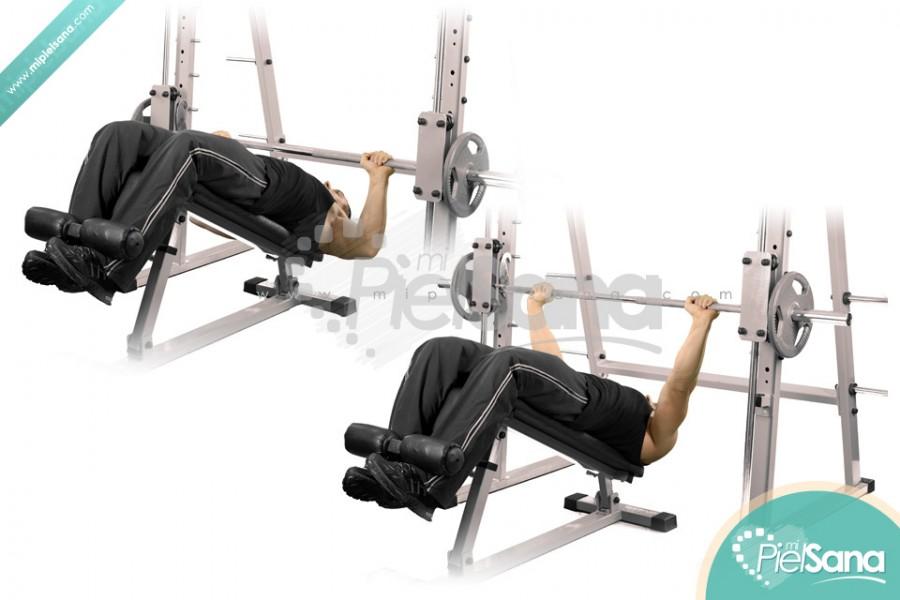 smith machine bench press