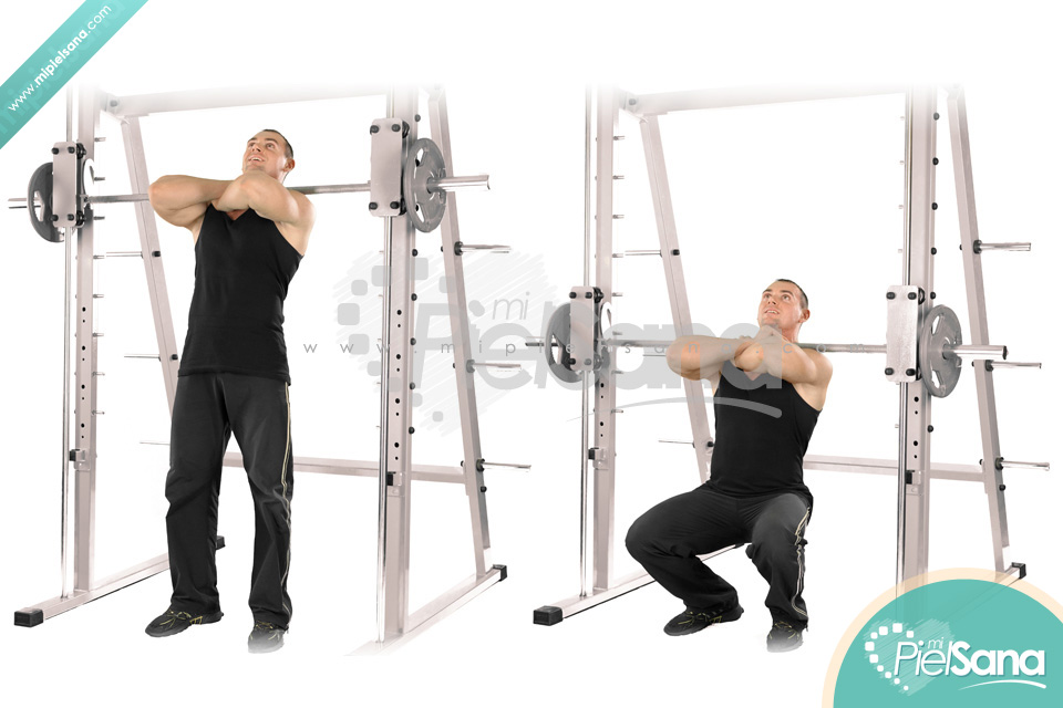 how to squat on a smith machine