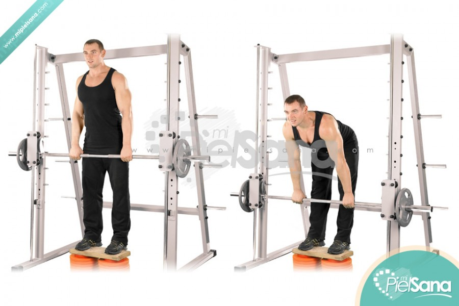 Smith Machine Stiff Leg Deadlift