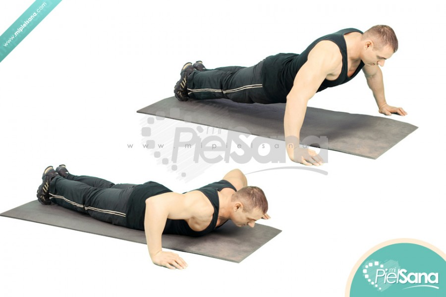 Wide Grip Push Ups