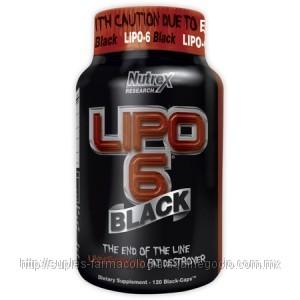 Lipo 6 Black